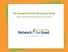 The Nonprofit Email Marketing Guide 7 Steps to Better Email Fundraising & Communications