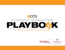 CONTENT MARKETING PLAYBOOK 42 WAYS TO CONNECT WITH CUSTOMERS