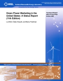 Green Power Marketing in the  United States: A Status Report  (11th Edition)