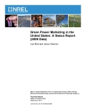 Green Power Marketing in the  United States: A Status Report  (2009 Data)