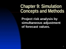 Simulation Concepts and Methods