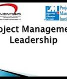 The Four Project Management Processes of Leadership and Management