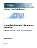 Stage-Gate Innovation Management  Guidelines