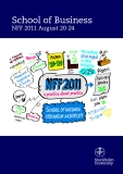 School of Business NFF 2011 August 20-24