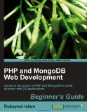 PHP and MongoDB Web Development Beginner's Guide