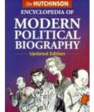 The Hutchinson Encyclopedia of Modern Political Biography
