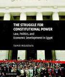 The Struggle for Constitutional Power law, politics, and economic development in egypt