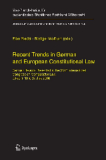 Recent Trends in German and European Constitutional Law