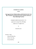 "Research "" Interorganizational Relationships and Information Services: How Technical and Institutional Environments Influence Data Gathering Practices """