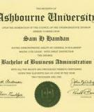 Bachelor in  Business Administration - Located on the  Paradise Valley  Community College Campus