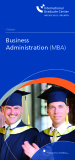 Teilzeit Business Administration (MBA)