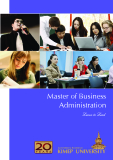 Master of Business  Administration Learn to Lead