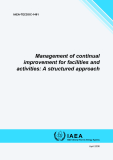 Management of continual improvement for facilities and activities: A structured approach