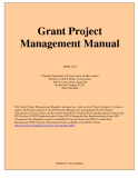 Grant Project  Management Manual