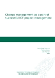 Change management as a part of successful ICT project management