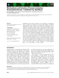Báo cáo khoa học: Mechanisms and kinetics of human arylamine N-acetyltransferase 1 inhibition by disulfiram