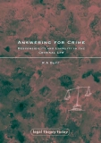 Answering for Crime Responsibility and Liability in the Criminal Law