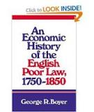 AN ECONOMIC HISTORY OF THE ENGLISH POOR LAW 1750-1850
