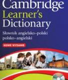 A LEARNER'S POLISH-ENGLISH DICTIONARY