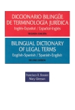 Bilingual Dictionary of Legal Terms