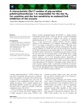 Báo cáo khoa học: A characteristic Glu17 residue of pig carnitine palmitoyltransferase 1 is responsible for the low Km for carnitine and the low sensitivity to malonyl-CoA inhibition of the enzyme