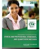 Book 1 - Ethical and Professional Standards and Quantitative Methods