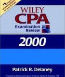Wiley CPA Examination Review 2000