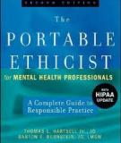 The Portable Ethicist for Mental Health Professionals A Complete Guide to Responsible Practice