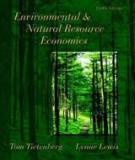 Environmental  and Natural  Resources  Economics