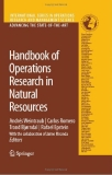 HANDBOOK OF THE OPERATIONS RESEARCH  IN NATURAL RESOURCES