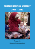 SOMALI NUTRITION STRATEGY  2011 – 2013: Towards the  Millennium Development Goals