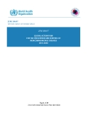ZERO DRAFT GLOBAL ACTION PLAN FOR THE PREVENTION AND CONTROL OF NONCOMMUNICABLE DISEASES 2013-2020