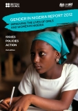 Gender in niGeria   report 2012 improvinG the lives of Girls   and women in niGeria