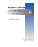 Business Ethics - a competent professional