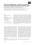 Báo cáo khoa học: Discovery of GSK837149A, an inhibitor of human fatty acid synthase targeting the b-ketoacyl reductase reaction