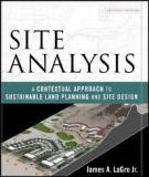 Site Analysis A Contextual Approach to Sustainable Land Planning and Site Design