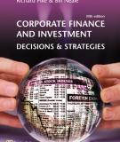 CORPORATE FINANCE AND INVESTMENT DECISIONS & STRATEGIES
