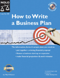 Book How to Write a Business Plan