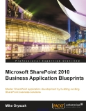 Microsoft SharePoint 2010 Business Application Blueprints
