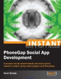 Instant PhoneGap Social App Development