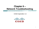 Chapter 8 – Network Troubleshooting