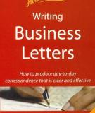 How to book: Writing Business Letters