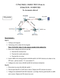 CCNA2 SKILL BASED TEST (Form A)