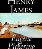 Eugene Pickering By Henry James