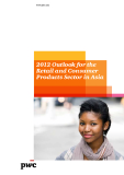 2012 Outlook for the retail and Consumer Products Sector in Asia