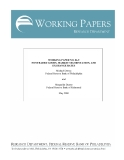 WORKING PAPER NO. 06-9  NONTRADED GOODS, MARKET SEGMENTATION, AND  EXCHANGE RATES