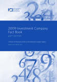 2009 Investment Company Fact Book 49th edition - A Review of Trends and Activity in the Investment Company Industry