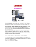 What is a PLC  Starters
