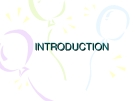 Introduction A Communications Model