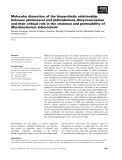 Báo cáo khoa học: Molecular dissection of the biosynthetic relationship between phthiocerol and phthiodiolone dimycocerosates and their critical role in the virulence and permeability of Mycobacterium tuberculosis
